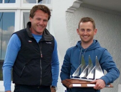 Well done Alex Barry and Richard Leonard on winning the RS400 Northerns